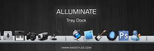 Alluminate tray dock