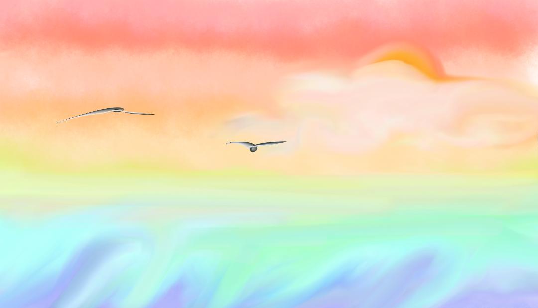 Sunset by LiaSmile00