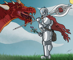 Eli - Warforged Fighter - Dungeons and Dragons by AnthonyParenti