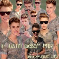 Pack png 10 - Justin Bieber