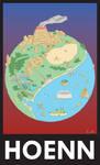 Hoenn Tourist Poster by Totar