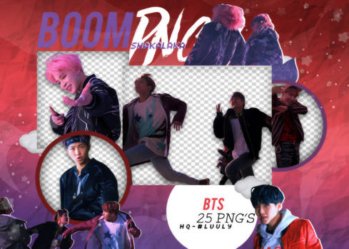 +BTS (Not Today)|Pack png 223|Boom Shakalaka Png's