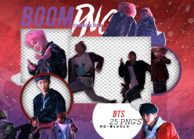 Bts Not Today Pack Png 223 Boom Shakalaka Png S By