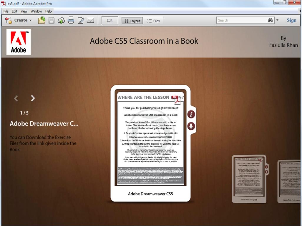 descarga Adobe Illustrator CS5 Classroom in a Book