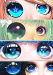 MMD Eye Immitation pack 3