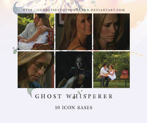 ghost whisperer icon bases by Goddessofthewoodland