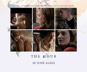 the hour icon bases by Goddessofthewoodland