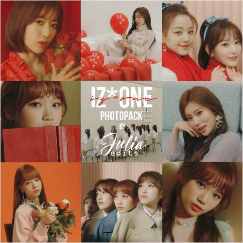 IZONE - LA VIE EN ROSE MV PHOTOPACK by JuliaEdits ...