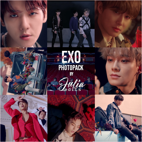EXO - LOVE SHOT MV PHOTOPACK by JuliaEdits on DeviantArt