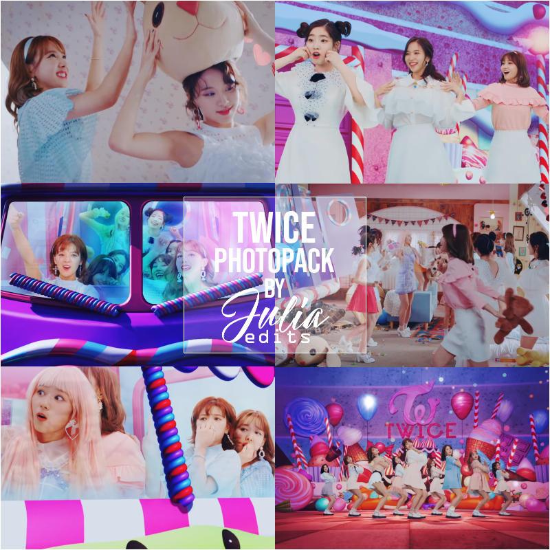 TWICE - CANDY POP MV PHOTOPACK by JuliaEdits