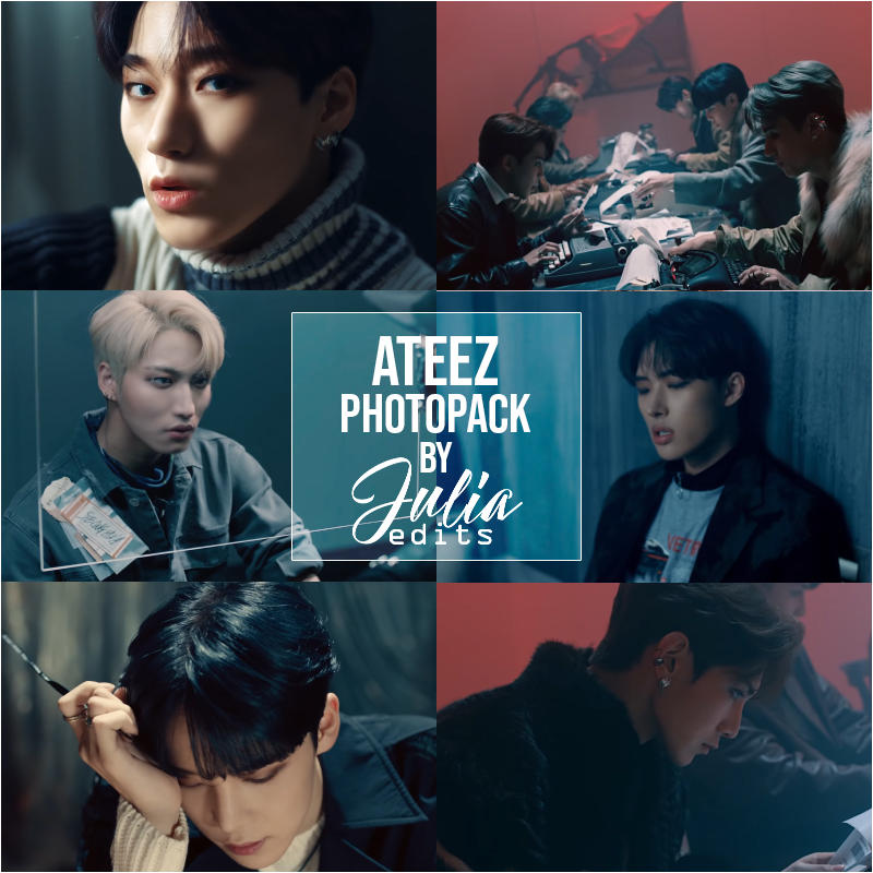 ATEEZ - SAY MY NAME MV PHOTOPACK by JuliaEdits