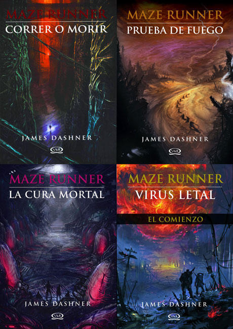The Maze Runner Saga Completa En Pdf By Pamemonserraat On Deviantart