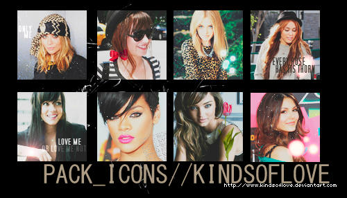 8 icons of famous by kindsoflove