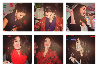 6 icons selena gomez by kindsoflove