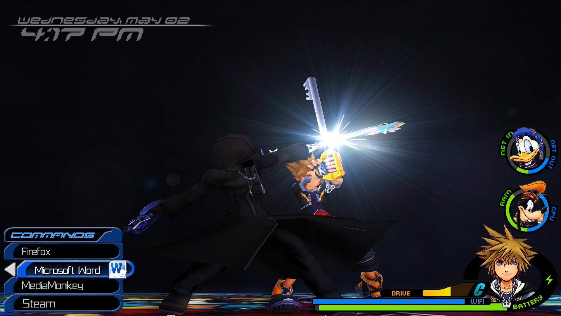 Kingdom Hearts 2 HUD by LuckyWilbury