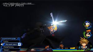 Kingdom Hearts 2 HUD