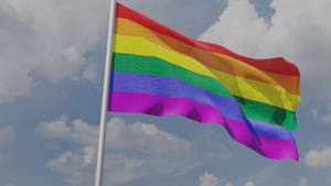 Pride Flag Animation in Blender (Daily 48)