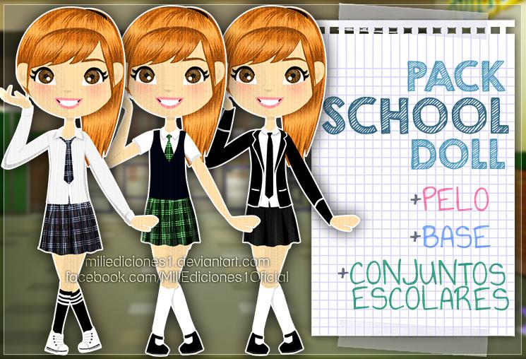 Pack De Uniformes Escolares by MiliEdiciones1