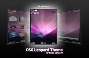 Nokia Series40 Leopard Theme by Minimall