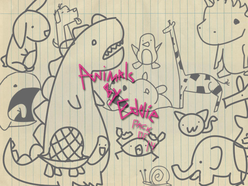 Doodle animals by Eddie Doodle_animals_by_eddie_by_thelilartist-d3d5hvj
