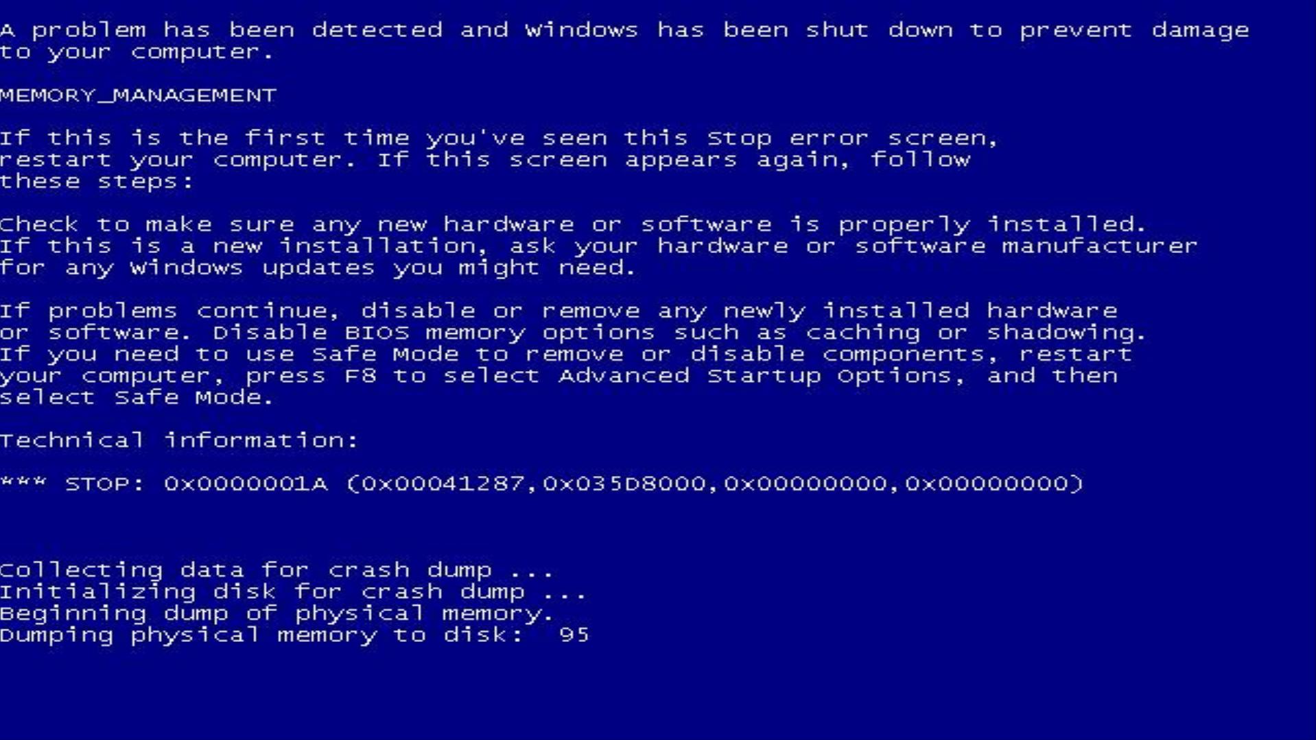 Bug Be Gone >> False Blue Screen of Death 20150505 by Ragingwasabi on DeviantArt