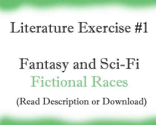 Lit Exercise: Fictional Races by Seabirdicat