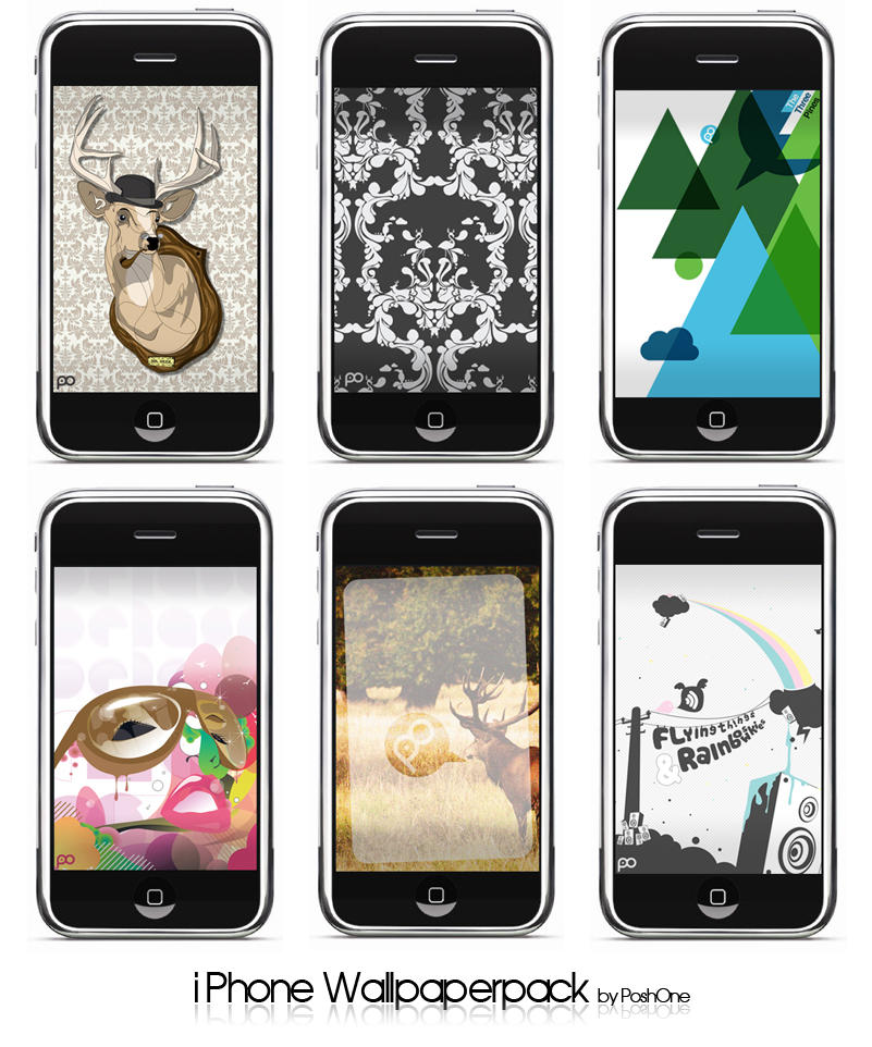 iPhone wallpaperpack by PoshOne