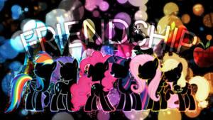 Spectrum of Friendship - Wallpaper Pack