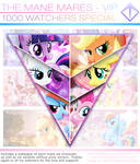 The Mane Mares - VIP - {1000 WATCHERS SPECIAL}