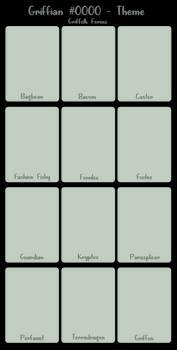 [F2U] Griffian Shapeshifter Form Template