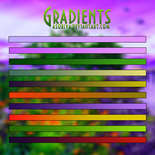 #016 Gradient by asoriva
