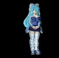 [Gmod/SFM] Blu Model