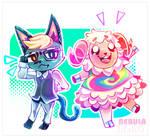 Animal Crossing Gif fanart (2/2)