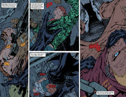 Batman: Hush pages 2-3 FLATS