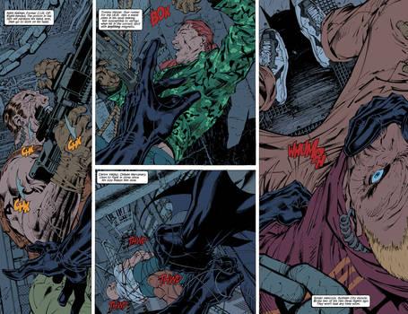Batman: Hush pages 2-3 FLATS