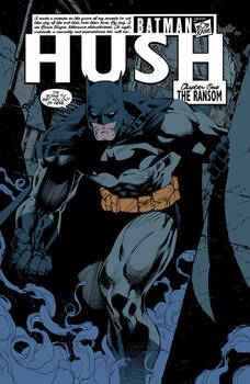 Batman: Hush page 6 FLATS
