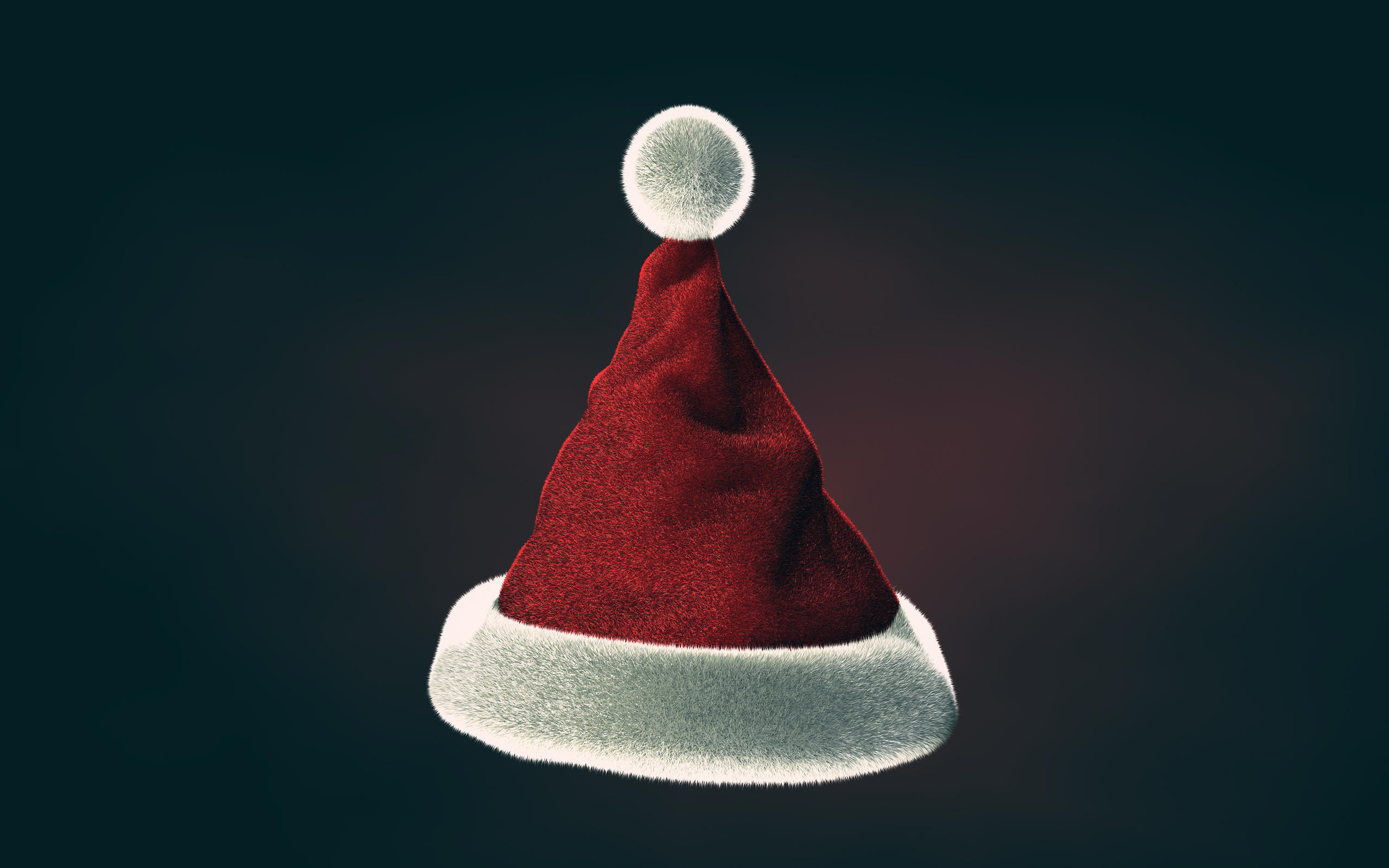 Christmas Hat - 3D by SpEEdyRoBy