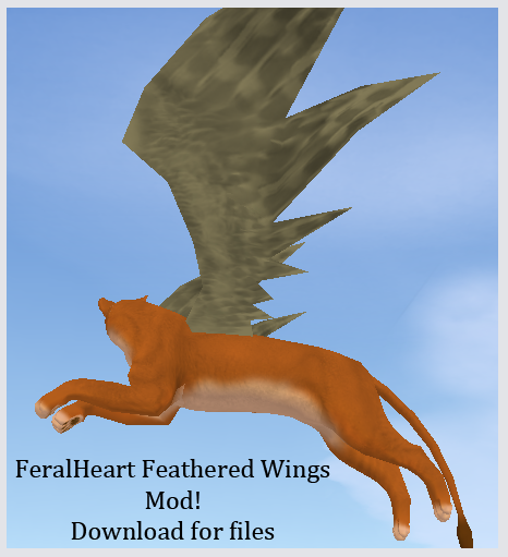 Fh Feathered Wings Mod By Nala91 On Deviantart