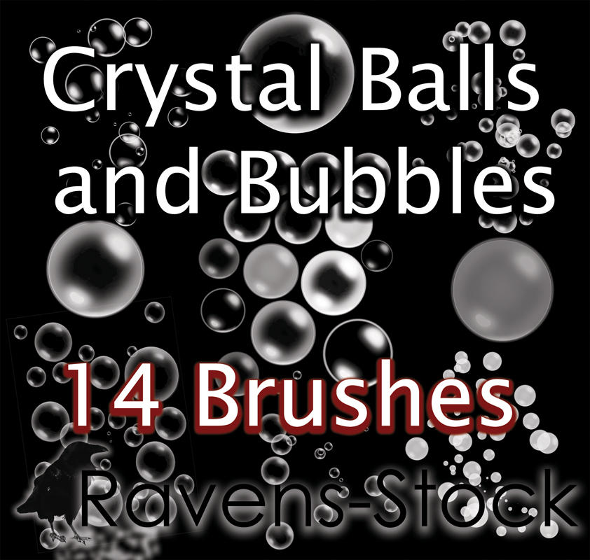 Spheres and Bubbles Brushes by StacyRaven