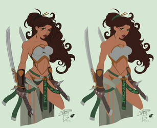 Ryan Downing's Blade Dancer - Flats by TracyWong