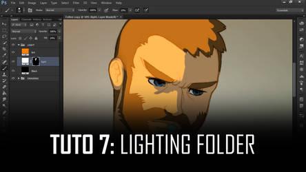 Photoshop Action - Lighting folder