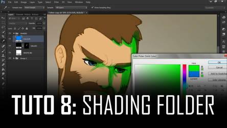 Tuto 08 - Photoshop Shading Folder by sykosan