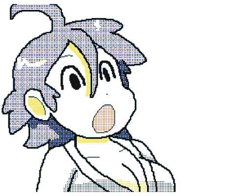 Luigi Thinks You're Cute Rei-chan (GIF)