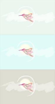 Colibri Wallpaper