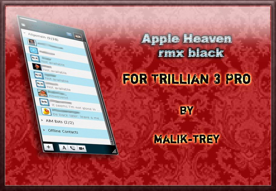 Apple Heaven rmx black