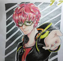 707 from Mystic Messenger by HappiArtist
