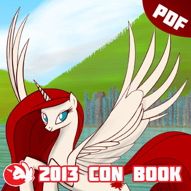 BronyCAN 2013 Convention Guide Book