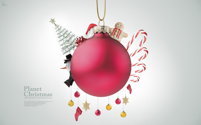 Planet Christmas by saltshaker911