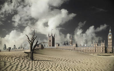 London Global Warming by saltshaker911