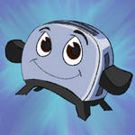 Daily Doodle #45- Toaster-The Brave Little Toaster